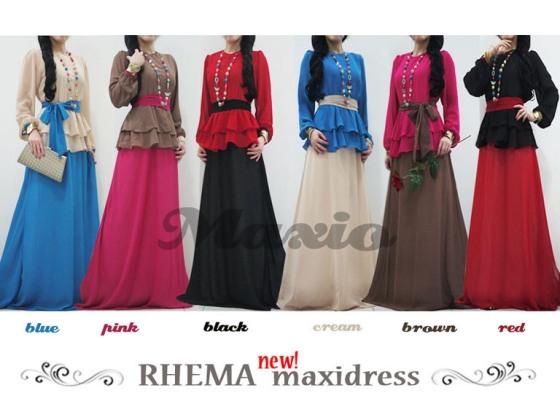 Maxi dress from malaysia